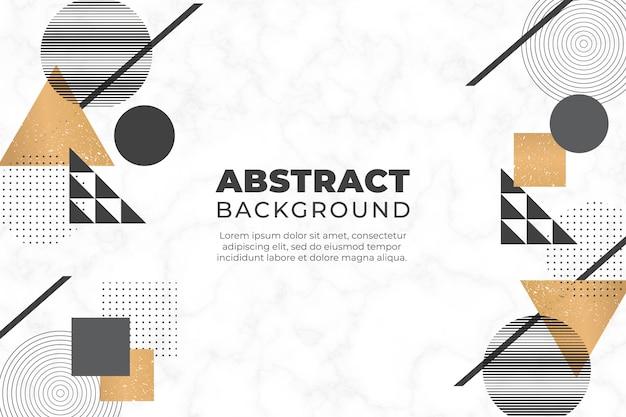 Abstrato com formas geométricas