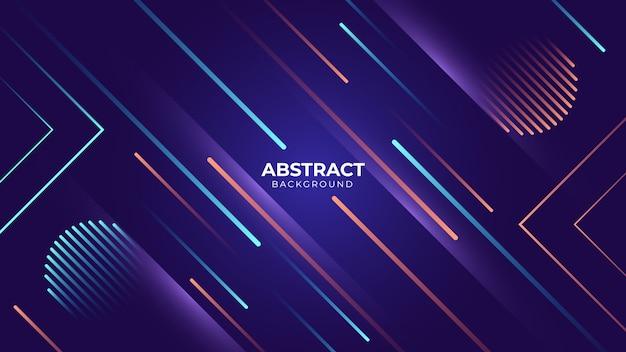 Abstrato com linha geométrica