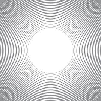 Abstrato com linhas de círculos.