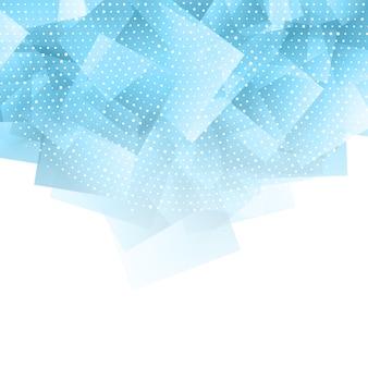 Abstrato com pontos de meio-tom