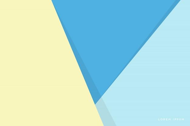 Abstrato com triângulos coloridos