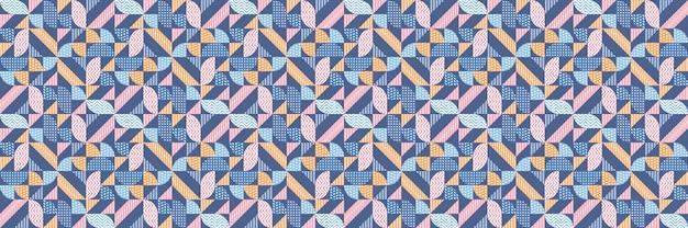 Abstrato com uma combinação de padrões listrados