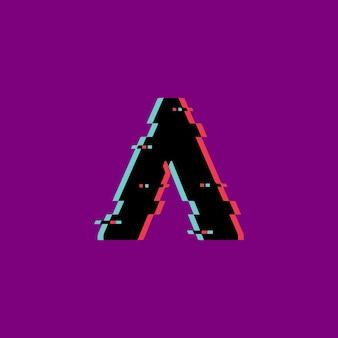 Abstrato criativo ilustração luxuosa sinal moderno um design de modelo de logotipo colorido
