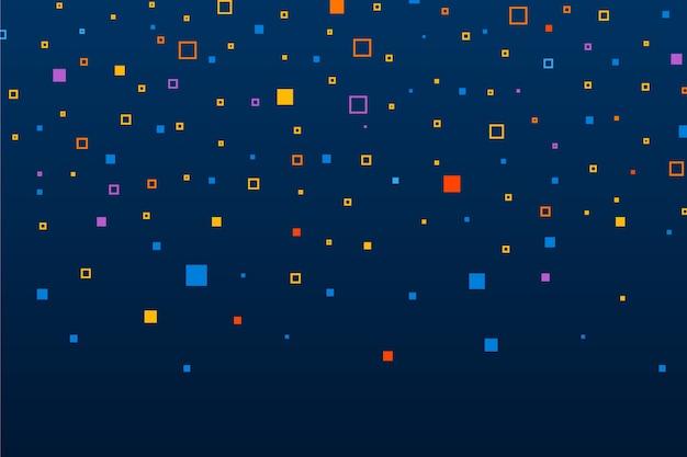 Abstrato de chuva de pixel