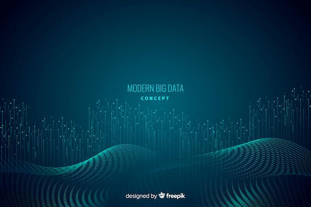 Abstrato de conceito de grande volume de dados