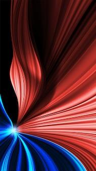 Abstrato de movimento curvas coloridas