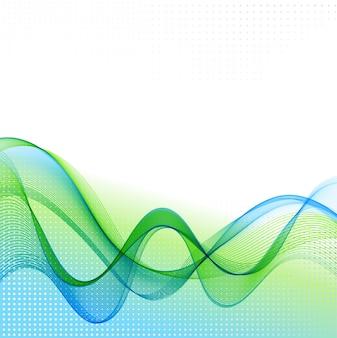 Abstrato de onda de fumaça de cor