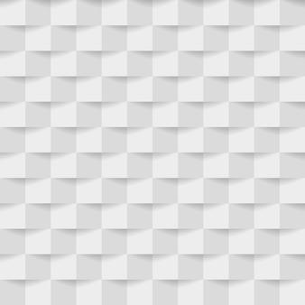 Abstrato de quadrados branco-cinza.