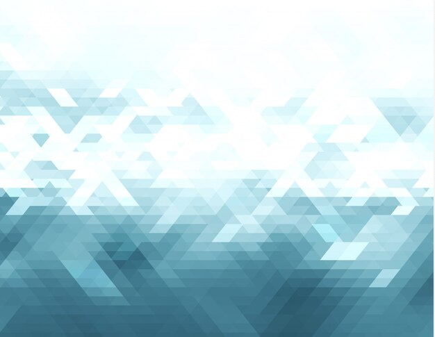 Abstrato de triângulo de vetor