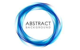 Abstrato design em azul