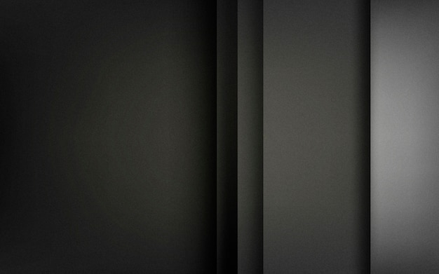 Abstrato design em preto