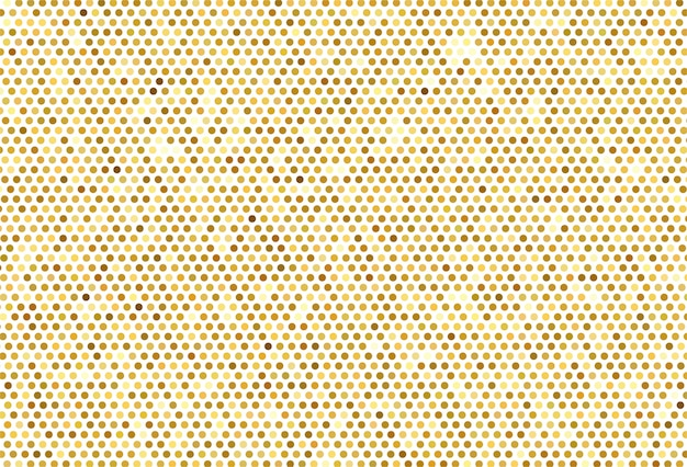 Abstrato dourado pontilhada de fundo