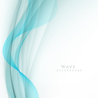 Abstrato, elegante, azul, ondulado, fundo