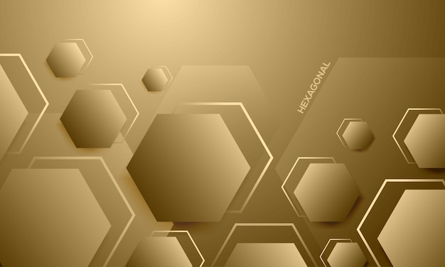 Abstrato elegante textura hexágono