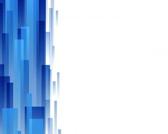 Abstrato em azul