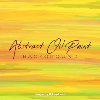 Abstrato em textura de tinta a óleo