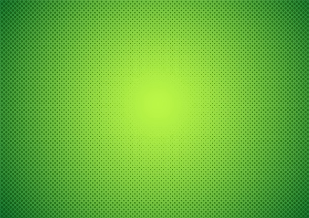 Abstrato. estilo de desenho animado verde de meio-tom.