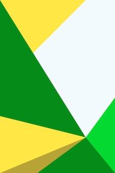 Abstrato, formas a ilustração do vetor do fundo do papel de parede verde, amarelo e dourado da floresta.