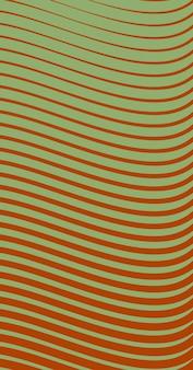 Abstrato, formas de fundo laranja escuro, papel de parede verde claro