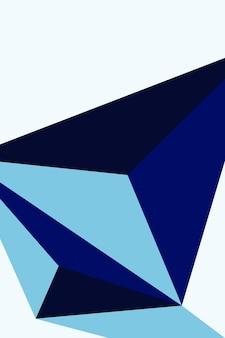 Abstrato, formas de ilustração vetorial de fundo de papel de parede azul escuro, azul marinho, azul bebê.