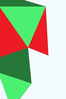 Abstrato, formas de ilustração vetorial de fundo de papel de parede verde, verde floresta, vermelho.