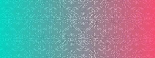 Abstrato, formas, geométrico, padrão, design, plano de fundo gradiente colorido, verde azul, fúcsia