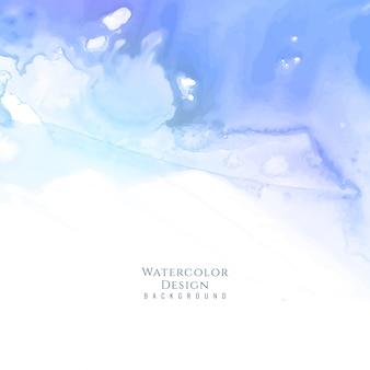 Abstrato, fundo de aguarela azul