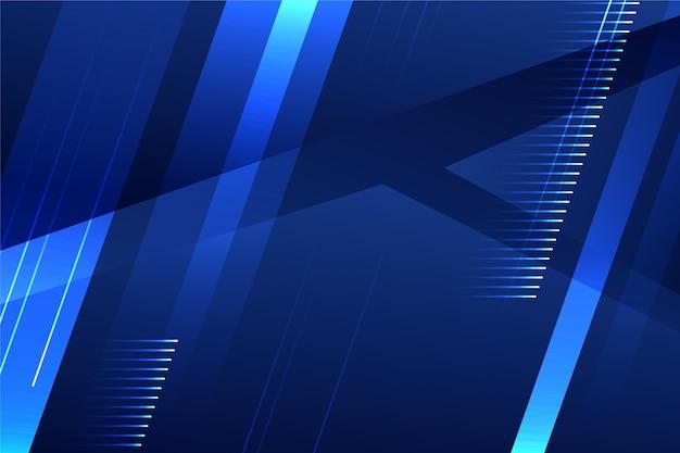 Abstrato futurista com arranjo de formas
