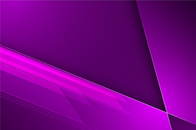 Abstrato futurista em tons violetas