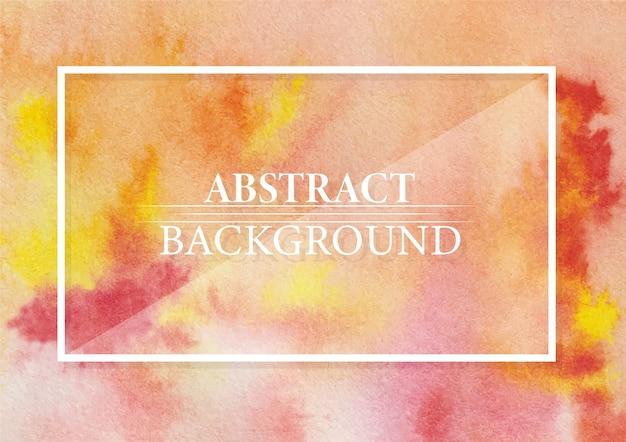 Abstrato gamboge hue e crimson lake color design moderno e elegante fundo