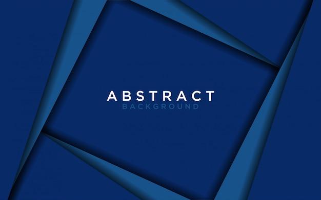 Abstrato geométrico azul