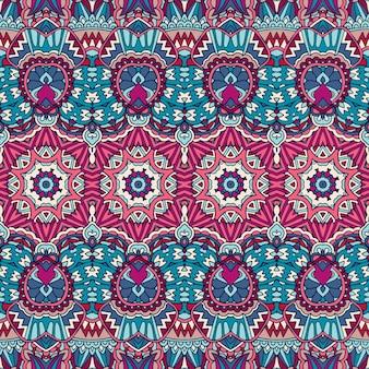 Abstrato geométrico colorido padrão sem emenda ornamental