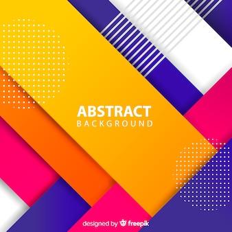 Abstrato geométrico colorido