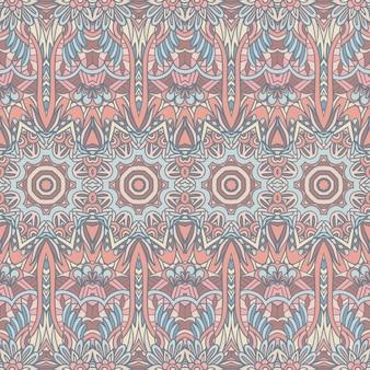 Abstrato geométrico com azulejos étnico padrão sem emenda ornamental.