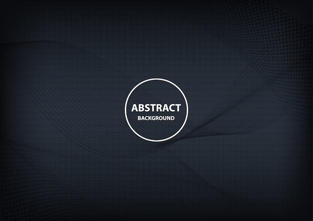 Abstrato geométrico e linha de fundo escuro