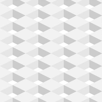 Abstrato geométrico fundo branco cor em design 3d