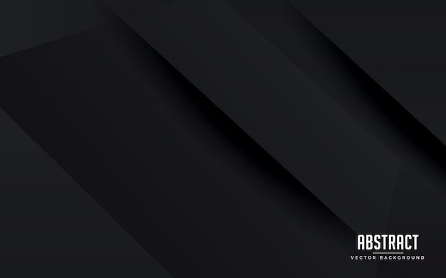 Abstrato geométrico fundo preto