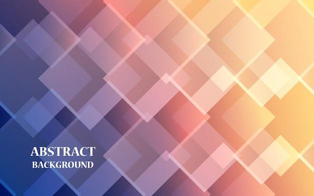 Abstrato geométrico gradiente com retângulos sobrepostos