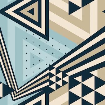 Abstrato geométrico padrão moderno