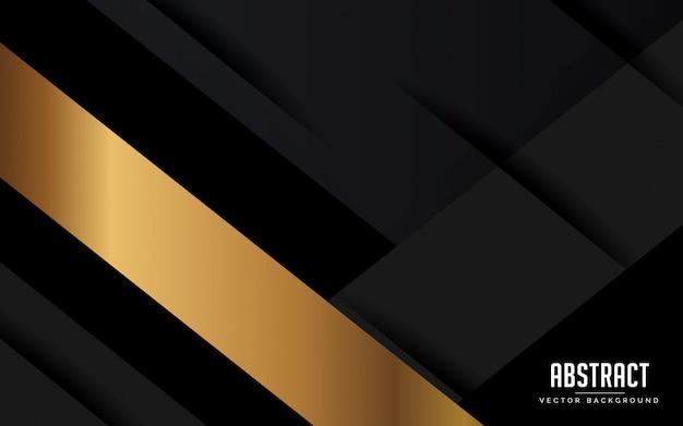 Abstrato geométrico preto e cinza cor moderna