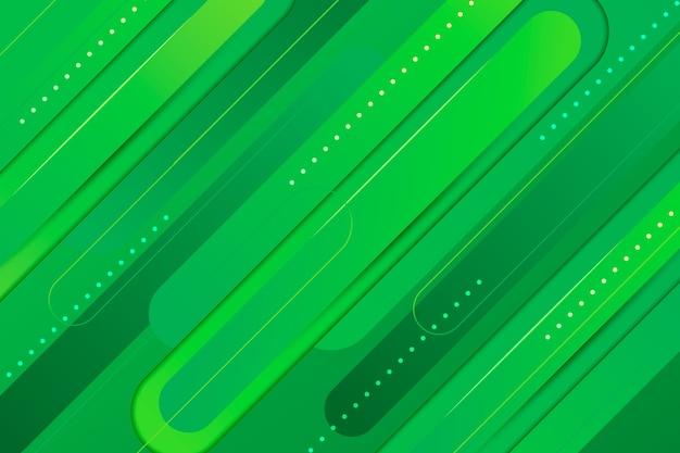 Abstrato geométrico verde