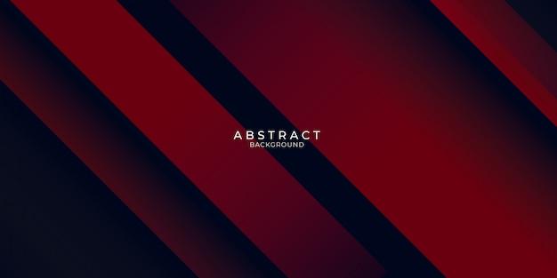 Abstrato geométrico vermelho moderno