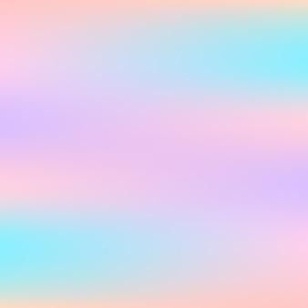 Abstrato holográfico com cores pastel