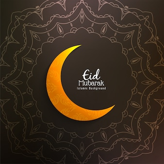 Abstrato islâmico eid mubarak
