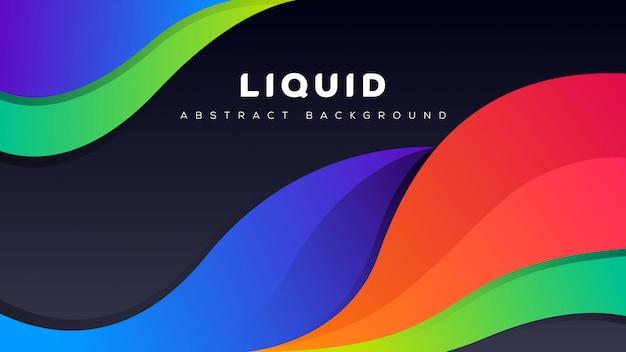 Abstrato líquido