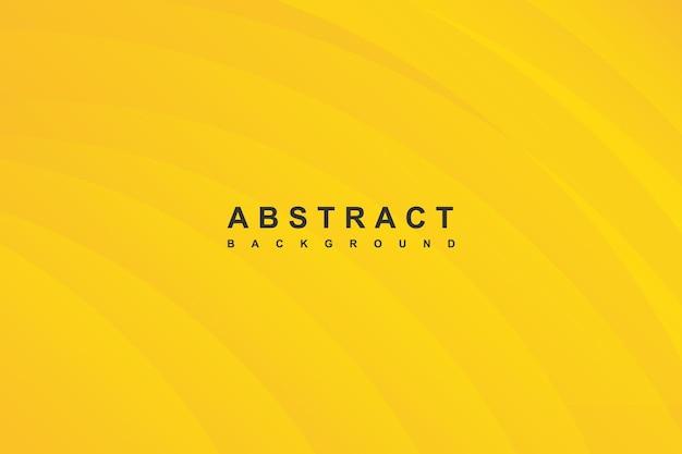 Abstrato moderno amarelo com decoração de sombra