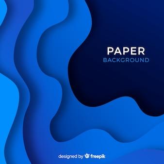 Abstrato moderno com estilo de papel