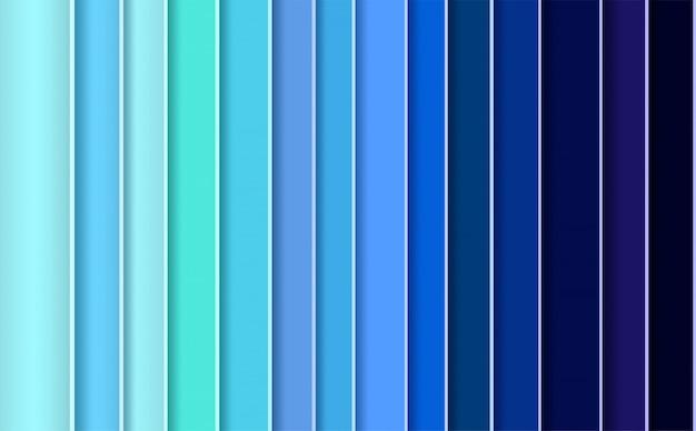 Abstrato moderno com painéis azuis