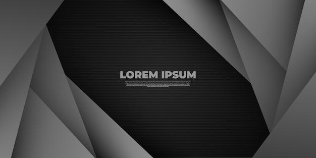 Abstrato moderno com tons de cinza linha preta e diagonal