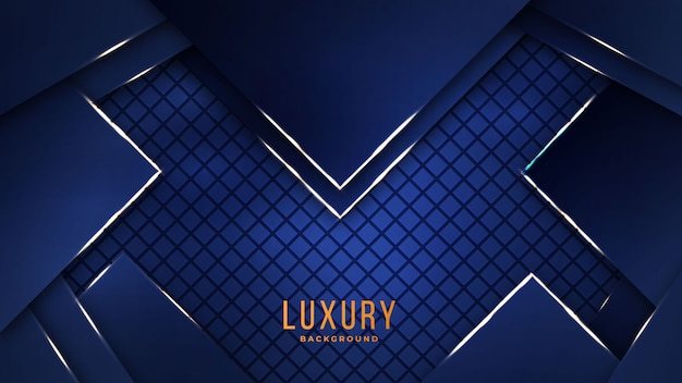Abstrato moderno de luxo com combinação golden light luxury color shape for design